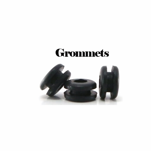 Rounded Rubber Grommets