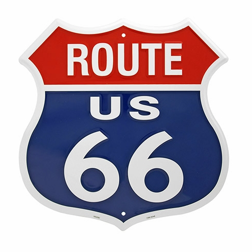 Route 66 MS292 Tin Sign