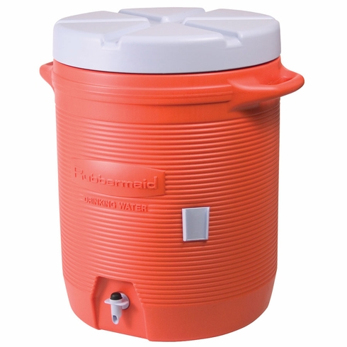 Rubbermaid 1840999 5 Gallon Water Cooler Orange