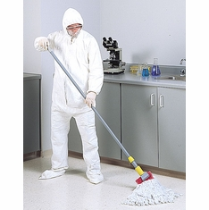 Rubbermaid� Medium Cleanroom Mop Head, White