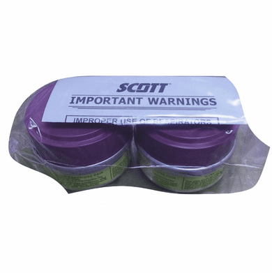 """Scott, Air Purifying Respirator Cartridges, 642-OA-P100 """"This Item is Discontinued"""""""
