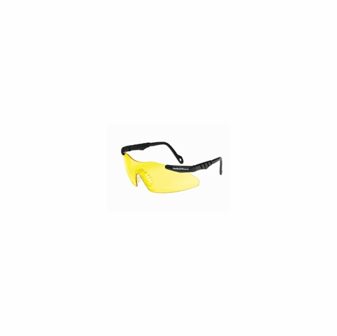 Smith & Wesson Black Frame Yellow Lens Safety Glasses  SW152-PCYI