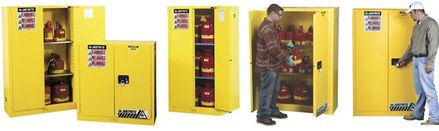 Specialty Storage Cabinets For Flammables