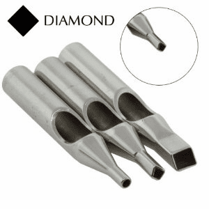 Stainless Steel Diamond Tip