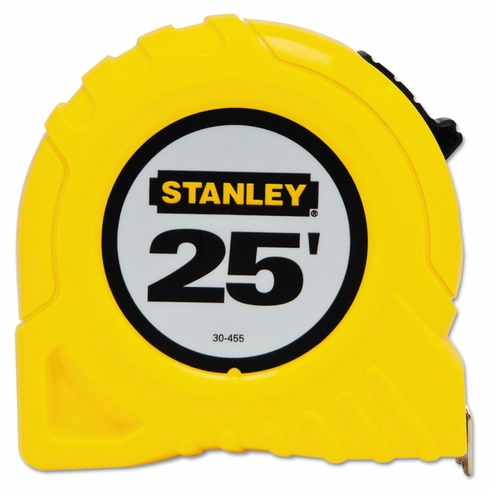 "Stanley 30-455 1"" X 25' Yellow Tape Rule"