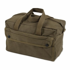 Stansport, 1135 Mechanics Tool Bag - Cotton - Olive Drab