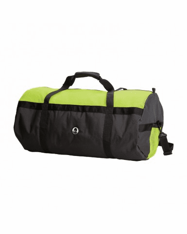 "Stansport, 17012-10 Mesh Top Roll Bag - 14"" X 30"" - Green/Black"