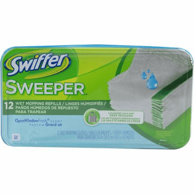 Swiffer Sweeper 35154 Wet Refills 12 Pack