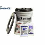 Brief Relief PQ310 The Commode Porta Quick Utility Pack