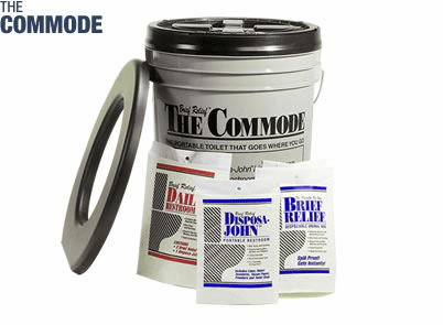The Commode Porta Quick Utility Pack