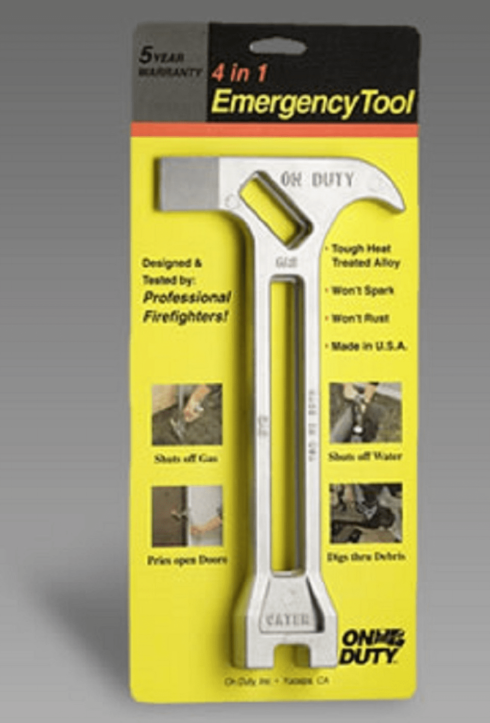 The On Duty� FST-1103SK Fire Safety Tool