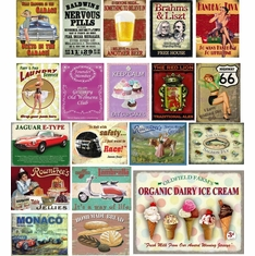 Tin Novelty Signs