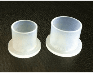 Top Hat Flat Bottom Clear Ink Caps