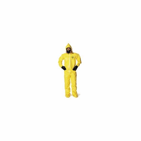 Tychem® QC Chemical Protection Coveralls With Bound Seams