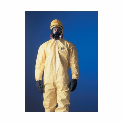 Tychem® QC Chemical Protection Coveralls With Serged Seams