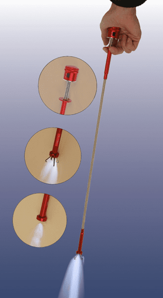 Ullman Flexible Magnetic Claw With Light