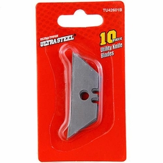 UltraSteel TU42601 10 Piece Utility Knife Blades
