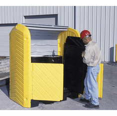 UltraTech 9613 Ultra-Hard Top Spill Pallets� P2 Plus, With Drain - 2-Drum