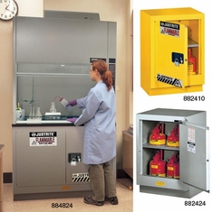 Under Fume Hood Cabinets