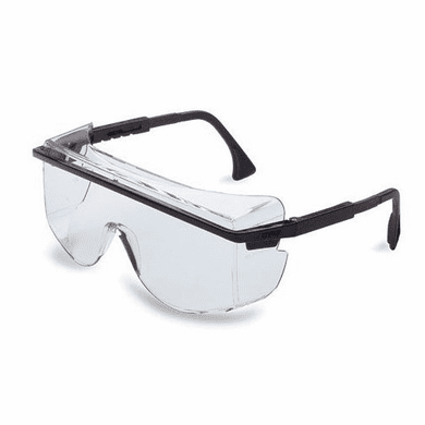 Uvex, Black Frame, Gray Lens, Uvextreme Anti-fog Coating, S2504C