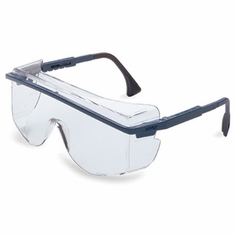 Uvex, Blue Frame, Clear Lens, Ultra-Dura Anti-Scratch Coating, S2510