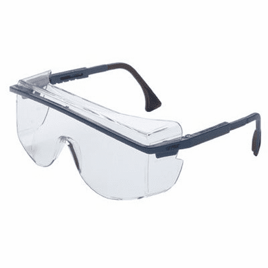 Uvex, Blue Frame, Gray Lens, Ultra-Dura Anti-Scratch Coating, S2514
