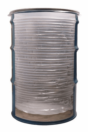 Value Brand 55-X Drum Insert, 55 Gallon, 18 Mil, Natural, Pack Of 15
