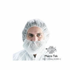 Valutek, VTBCV-18 Spunbond Polypropylene Beard Cover