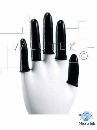 Valutek VTCLCONPF Latex Conductive Finger Cot PF