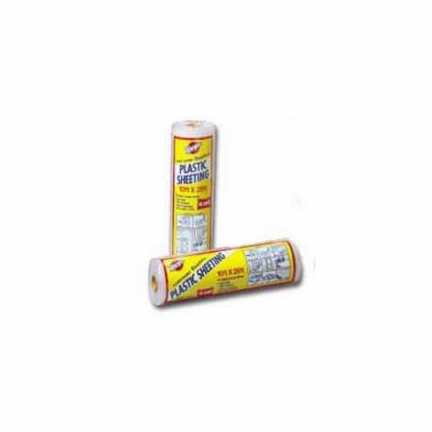 Warp Brothers 4CH15 Plastic Sheeting Clear 4 Mil