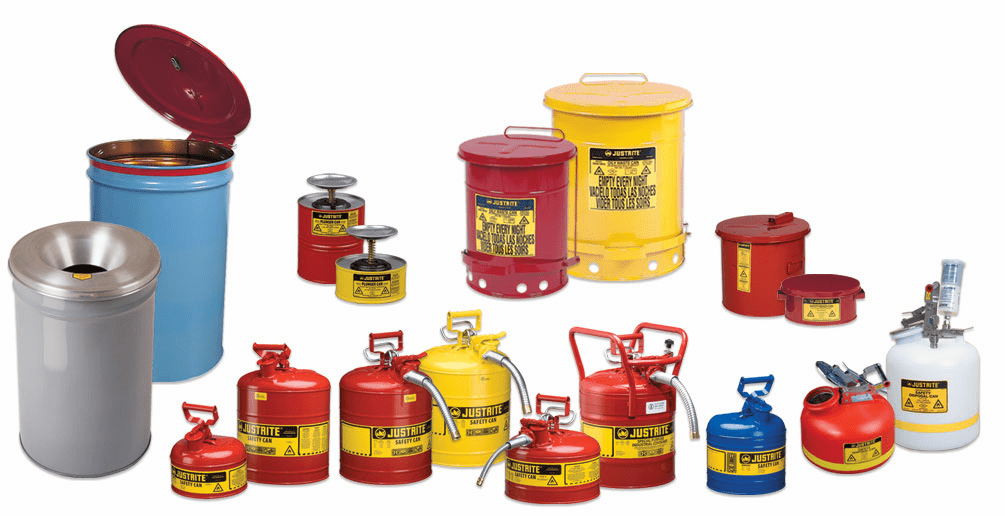 Waste Safety Cans, Containers