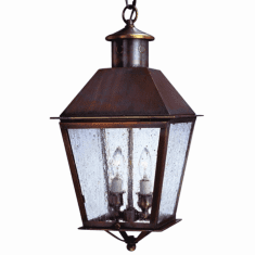 Banford Pendant Hanging Copper Lantern