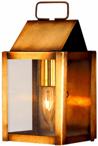Carriage House Wall Sconce Copper Lantern