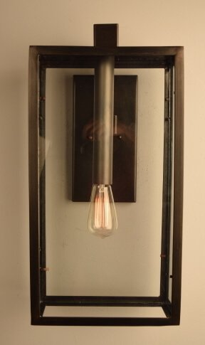 Open Spaces Iron Wall Sconce