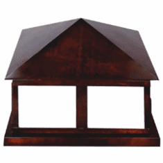 Georgetown Pier-Base Column Mount Lantern