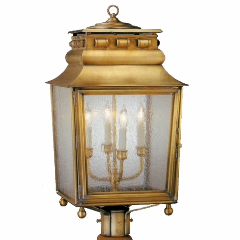 Jackson Post Mount Copper Lantern