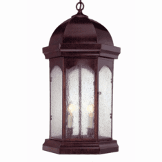 Landon Jr. Pendant Hanging Copper Lantern