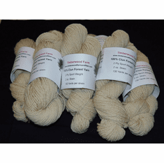 Clun Forest 2 Ply Sport Weight Yarn - 2 oz