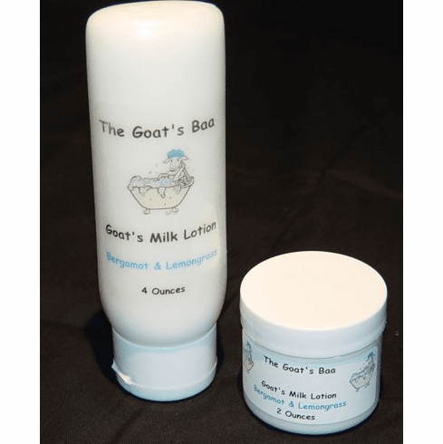Goat's Milk Lotion - Bergamot & Lemongrass