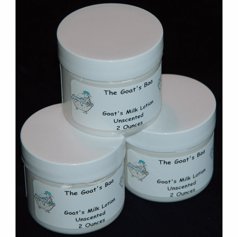 Goat's Milk Lotion – Unscented Travel Size