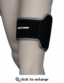 Cold One®  Soccer Ice Compression Wrap Shin, Thigh, Calf, Universal Multi-Purpose