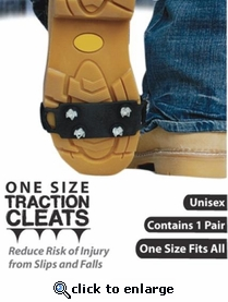 No-Slip Ice Cleats® One Size Ice Traction