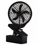 O2 Cool Portable Clip Fan Battery Operated