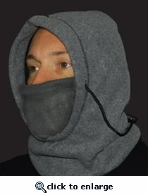 PolarEx® 6-in-1 Fleece Hood