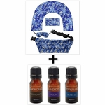 ***SPECIAL DEAL*** Nature's Approach® Complete 4 Piece Home Spa Set + SpaRoom® Everyday Essential Oils 3-Pack 10ML