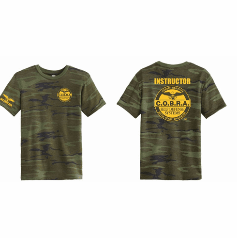 COBRA Custom Camo Instructor Shirt