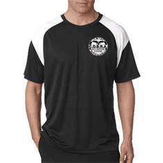 COBRA- Dri - Fit Performance T-Shirt- Custom White Embroidered Logo