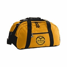 COBRA - Gold & Black Instructor Duffel Bag With Custom Logos