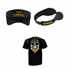 Instructor 2-Pack Special : Visor & Short Sleeve Instructor T-Shirt