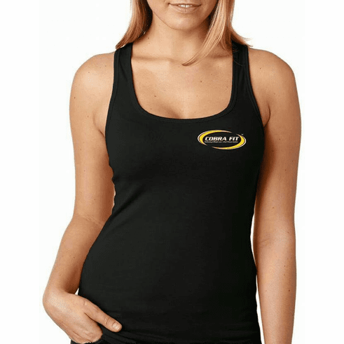 Ladies Racer Back Tank Tops - Pick Your Color &  Logo